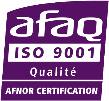 Certification AFAQ ISO 9001 : 2015